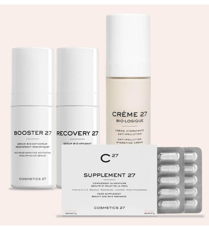 Anti oxidant skin routine