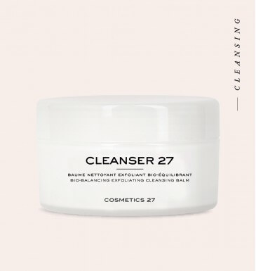 Face cleansing balm...