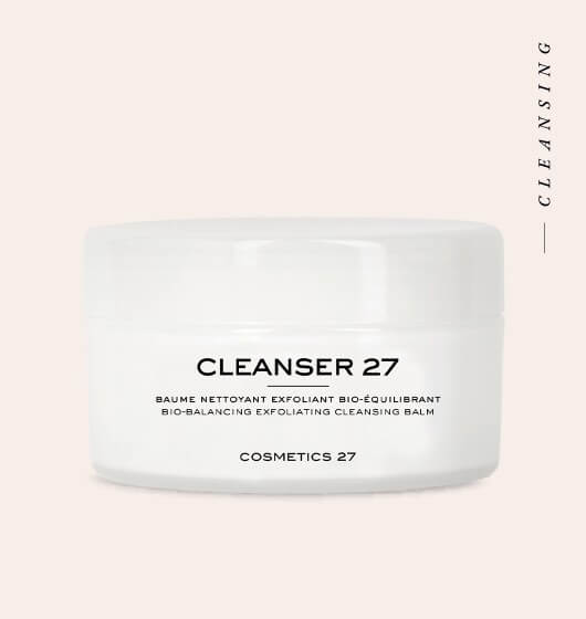 Face cleansing balm Cleanser 27