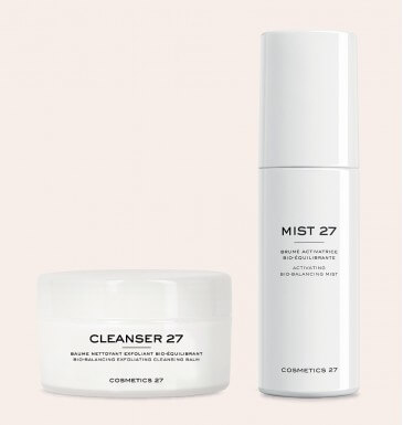 Double cleansing