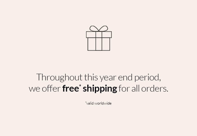 Free shipping until 2021!
